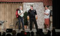 Die drei möglichen Babbas: Tom, Willi und Herbert